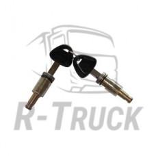 Scania R94 114 124 144 cab 2door plugs+2 copper keys
