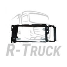 Scania R114 head lamp frame no rim and screws LH