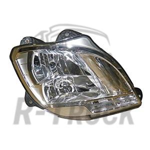 Daf XF E6 head lamp with dipped beam and main beam lamp manual RH e-mark